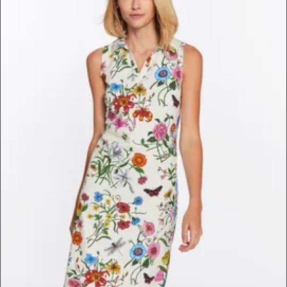 J.mclaughlin floral Dress